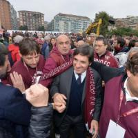 """Torino ritrova il Filadelfia, via alla ricostruzione. Cairo: """"Merito dei tifosi"""""""