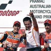 MotoGp, Gp Australia show: la gara dell'anno la vince Marquez