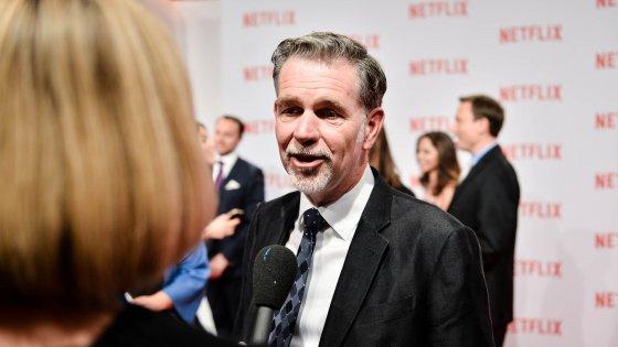 """Netflix, parla Hastings: """"Tra 7 anni saremo in un terzo delle case"""""""