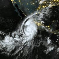 L'Uragano Patricia ha toccato terra in Messico a Jalisco
