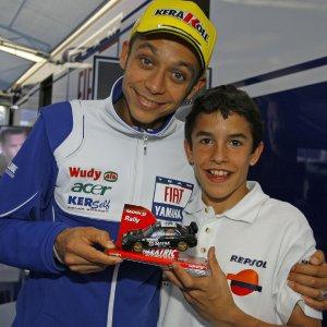 MotoGp: Marquez-Rossi, quella foto di sette anni è un lontano ricordo