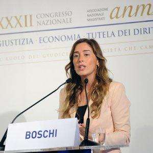 """Boschi: """"Toghe lavorano per il bene dell'Italia. Riconoscimento la presenza di Mattarella"""""""