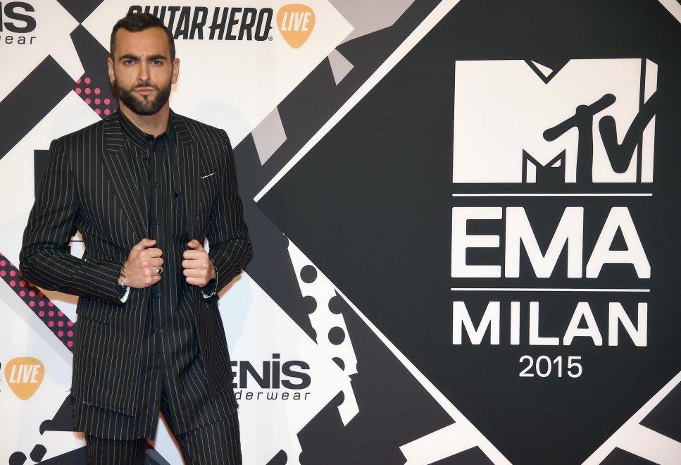 Marco Mengoni agli Mtv Ema premiato come miglior artista europeo