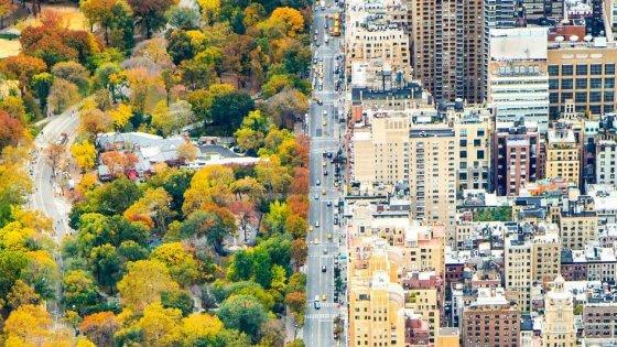 Autunno a new york i due volti della citt for New york dall alto