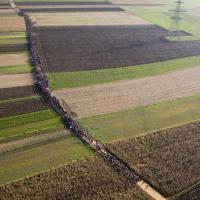 Slovenia, la lunga marcia dei rifugiati nei campi