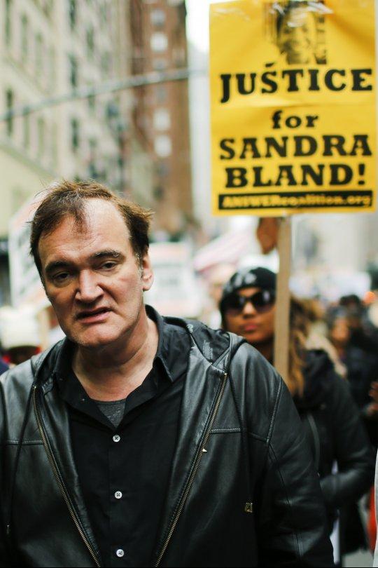 """Tarantino contro polizia di New York: """"Assassini"""""""