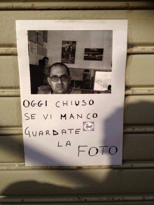 abbastanza I cartelli sono surreali: l'ironia delle affissioni raccolta sul  FV15