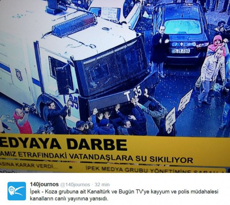 Turchia, polizia occupa tv di opposizione in diretta