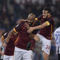 Roma-Udinese 3-1, Pjanic e Maicon mantengono in testa i giallorossi