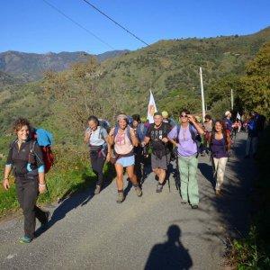 Puglia, la camminata solidale tra le comunità virtuose con 20 guide e 4 asinelli