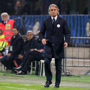 "Inter, Mancini: ""Pochi palloni a Icardi? Se li deve cercare..."""