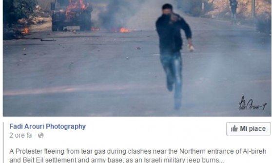 M.O., neonato palestinese asfissiato a Betlemme da lacrimogeni di Israele