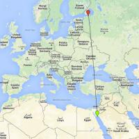 Egitto, precipita aereo civile nel Sinai: la rotta