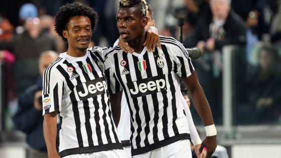 Juventus-Torino 2-1: scherzetto Cuadrado al 93', il derby è bianconero