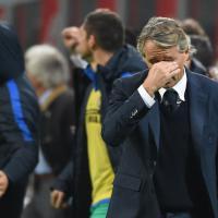 Inter, Mancini in lacrime a fine partita: