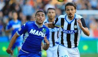 Udinese-Sassuolo 0-0, i neroverdi si fermano al palo