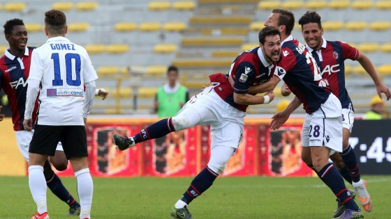 Bologna-Atalanta 3-0, Donadoni dà la sveglia