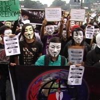 Anonymous, il messaggio per la Million Mask March 2015