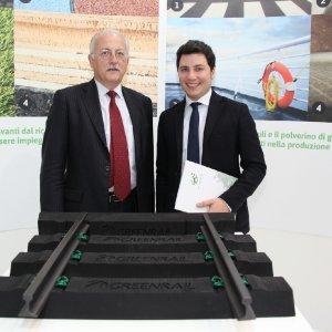 Ferrovie più 'green' con le traversine di gomma riciclata da pneumatici