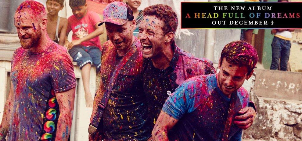 "Coldplay, arriva il nuovo album, si intitola ""A Head Full of Dreams"""