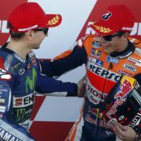 MotoGp, Valencia; Lorenzo ammette: ''Aiutato dalla Honda''. Marquez: