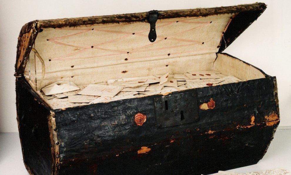 Il baule ritrovato, tornano alla luce lettere di 300 anni fa