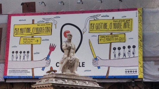 Il monumento in bikini non è un'opera d'arte