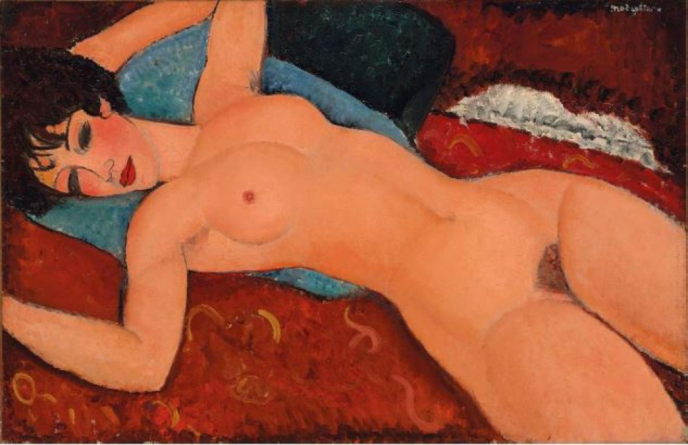 New York, record mondiale per Modigliani: 170,4 mln di dollari