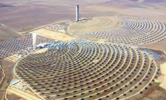 Sul set del Gladiatore la più grande centrale solare del mondo