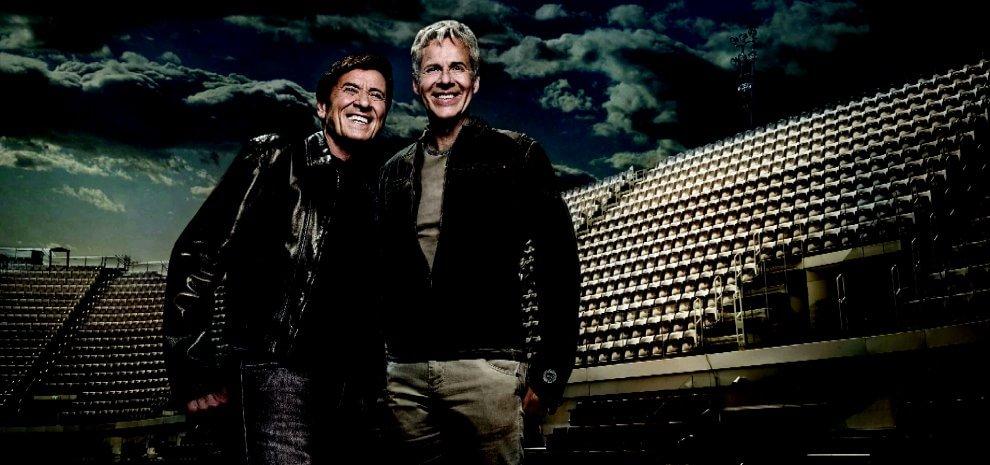 "Claudio Baglioni e Gianni Morandi, i due ""capitani"" tornano insieme sul palco"