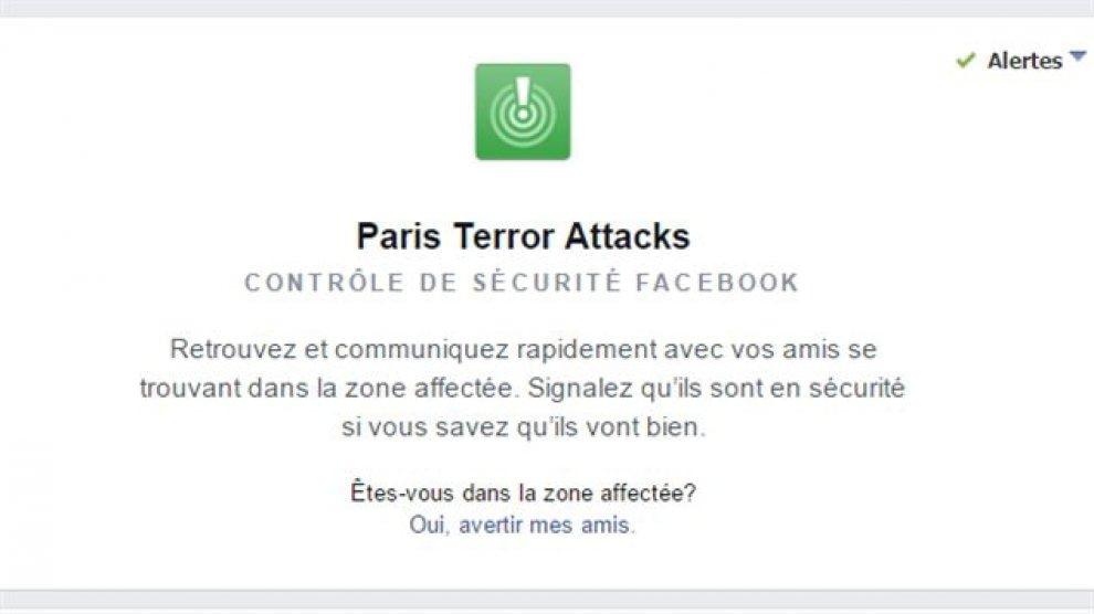 """Parigi sotto attacco, su Facebook la funzione """"Stiamo bene"""""""
