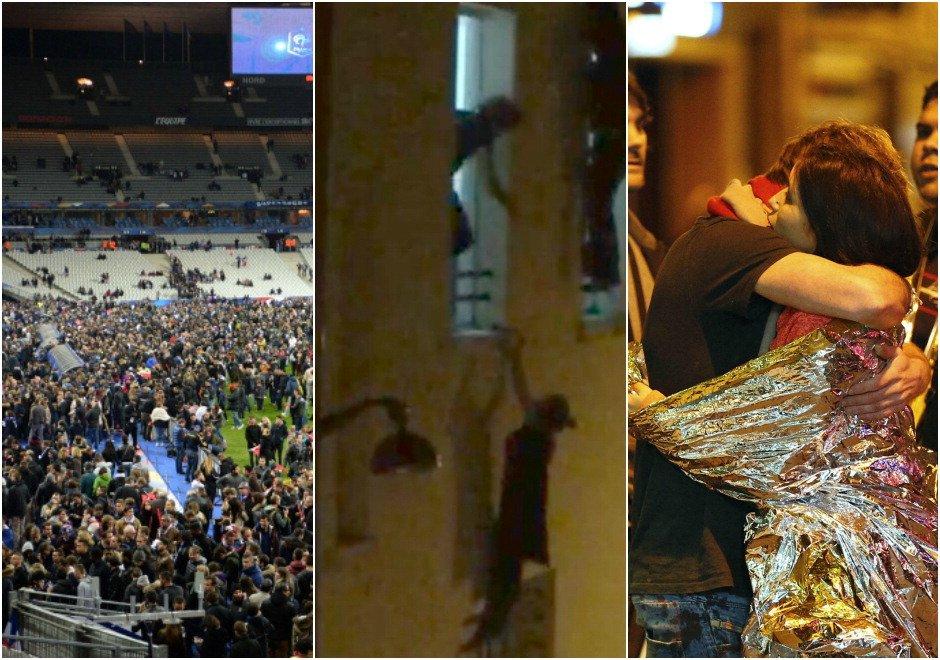 Parigi sotto attacco, dallo Stade de France al Bataclan: fotocronaca degli attentati