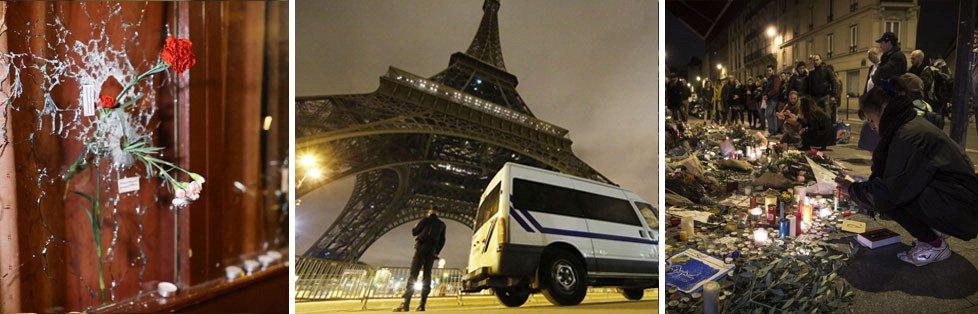 """Terrore a Parigi, 129 morti. Hollande: atto di guerra   video   -   liveblog     Procuratore:  """"In azione tre squadre coordinate""""   foto    cronaca"""