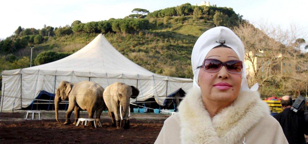 Addio a Moira Orfei, signora del circo italiano
