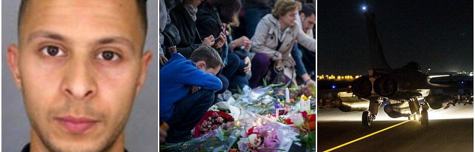 """Parigi, dodici uomini nel commando:  due in fuga . L'ordine dal Califfo       Caccia all'uomo  in tutta Europa, allerta anche in Italia   Liveblog     Premier Valls:  """"Si preparano attacchi anche in altri Paesi europei"""""""