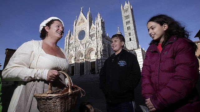 Siena e Francigena ai bambini