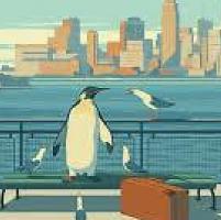 """Emiliano Ponzi: """"Vi racconto il pinguino che finì sui libri più belli del mondo"""""""
