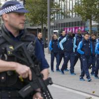 Inghilterra-Francia, i Bleus raggiungono Wembley sotto scorta armata
