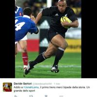 Morto Jonah Lomu, l'omaggio di Twitter alla leggenda degli All Blacks