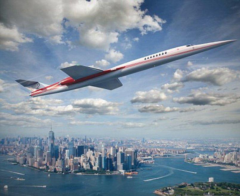 As2, il jet supersonico privato sul mercato entro sei anni