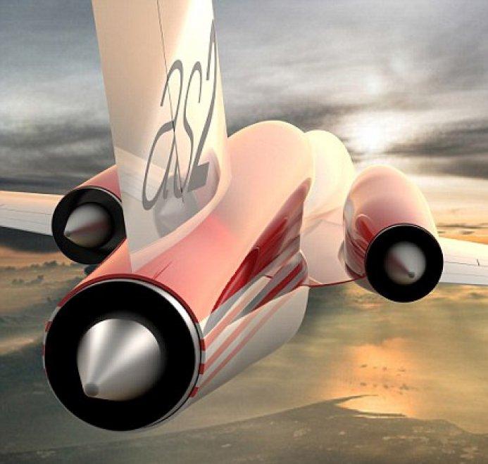 Jet Privato Supersonico : As il jet supersonico privato sul mercato entro sei anni