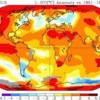 Caldo, nuovo record per il mese di ottobre
