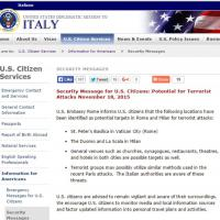 Strage Parigi, ambasciata Usa avverte: San Pietro e La Scala possibili obiettivi