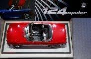 Il debutto della Fiat 124 Spider al salone di Los Angeles