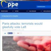 """Portavoce Ppe: """"I terroristi voterebbero allegramente la sinistra"""". Fratoianni: """"Frase..."""