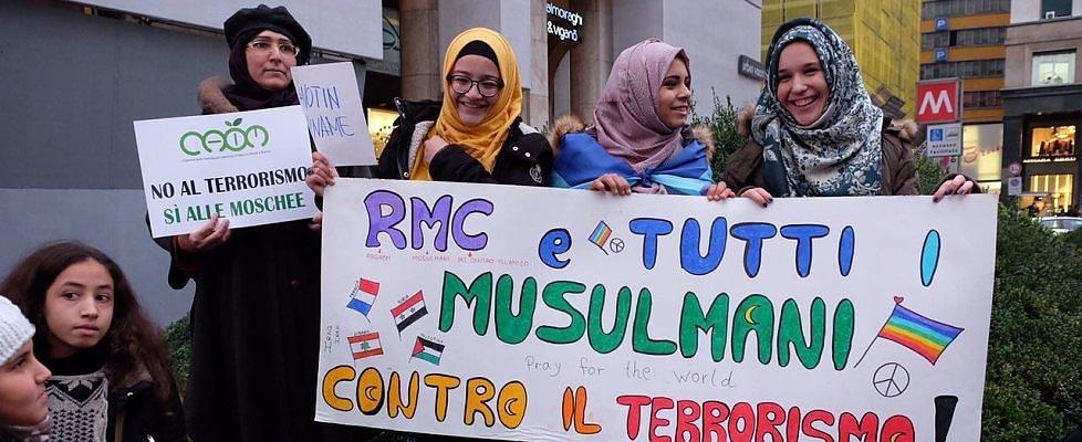 """'Not in my name', musulmani in piazza gridano forte: """"Sconfiggiamo il cancro del terrorismo"""""""