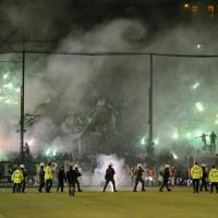 Incidenti ad Atene, salta derby Panathinaikos-Olympiacos. Niente esordio per Stramaccioni