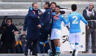 """Napoli, Sarri: """"Inutile guardare la classifica, è già bello essere terzi"""""""