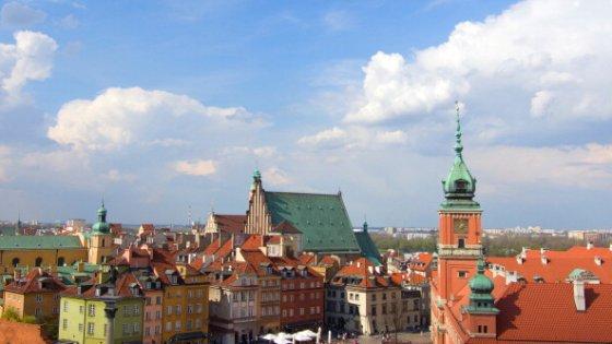 Varsavia, capitale giovane