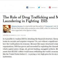 """Saviano sul New York Times: """"Cambiare l'economia per colpire Is e trafficanti di droga"""""""